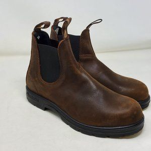 Blundstone PU TPU Elastic Side Boots Mens Sz 7.5